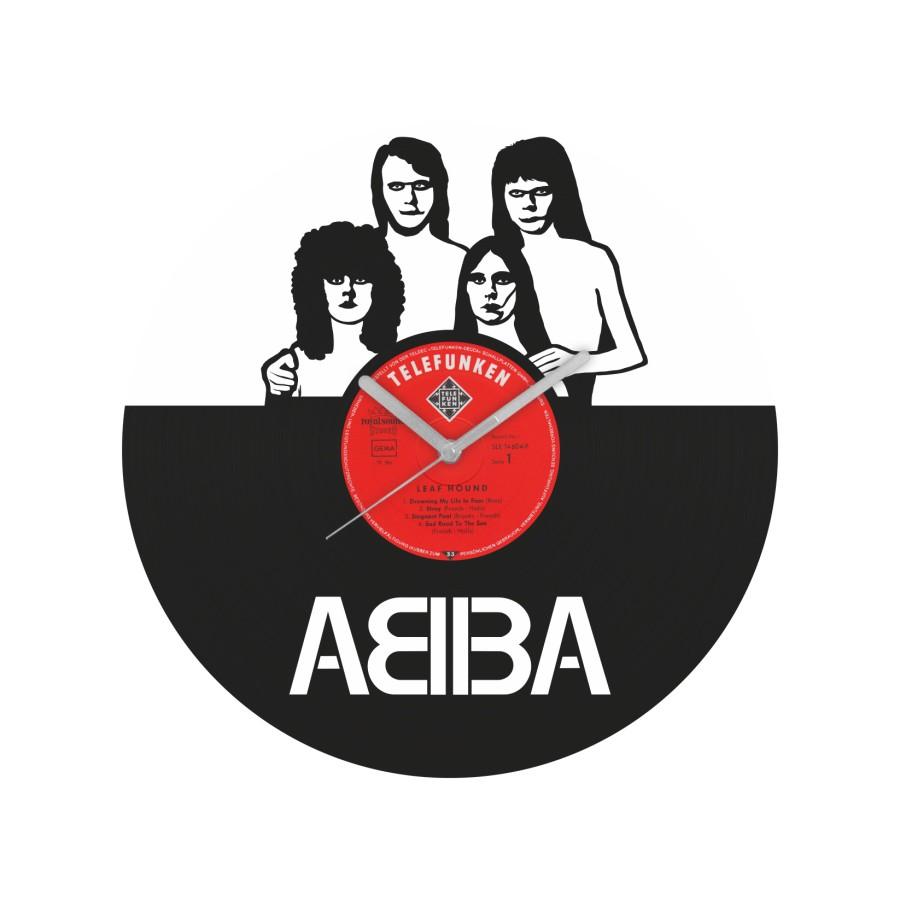 ABBA v1 Vinyl Record Wall Clock