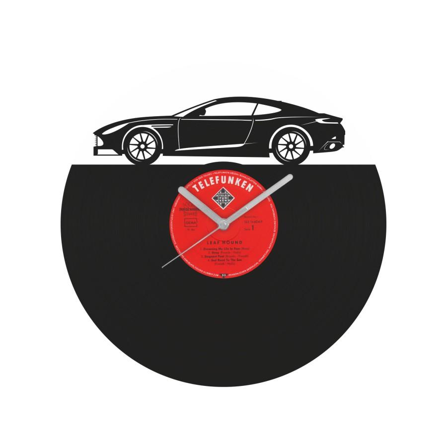 Aston Martin DB11 Vinyl Record Wall Clock