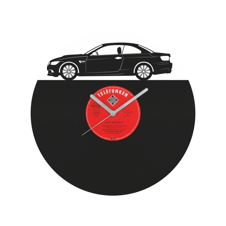 BMW E92 Vinyl Record Wall Clock