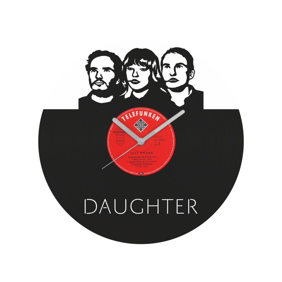 Daughter Vinyl Record Wall Clock