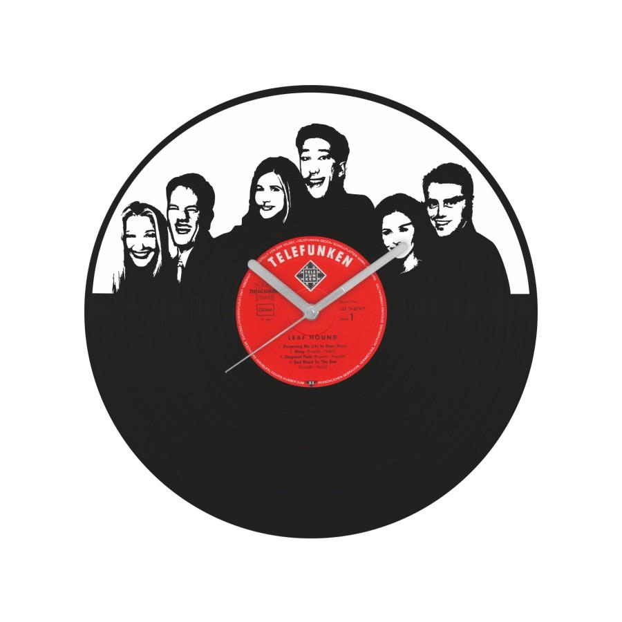 Friends Vinyl Record Wall Clock