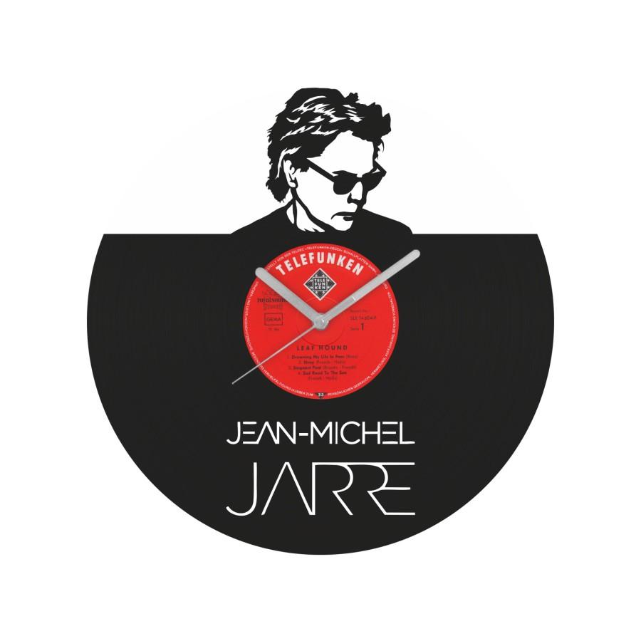Jean-Michel Jarre laikrodis iš perdirbtos vinilinės plokštelės