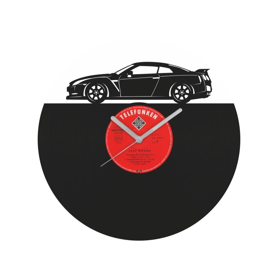 Nissan GT-R Vinyl Record Wall Clock