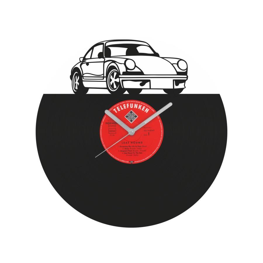 Porsche 911 Carrera Vinyl Record Wall Clock