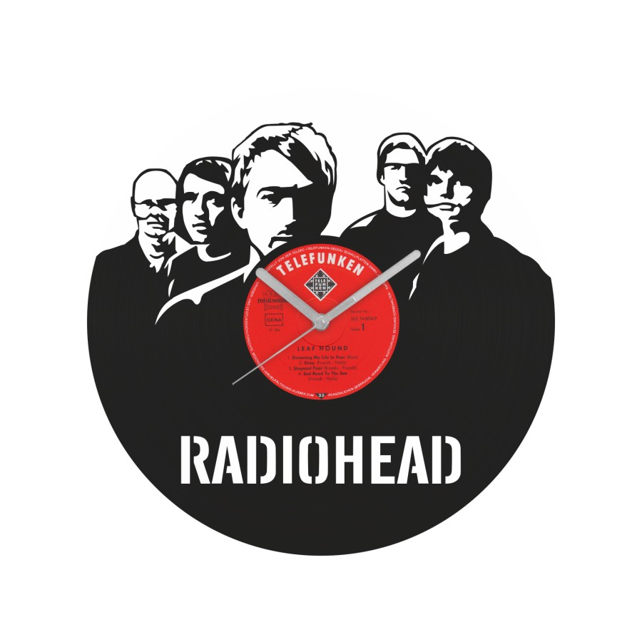 Radiohead Vinyl Record Wall Clock