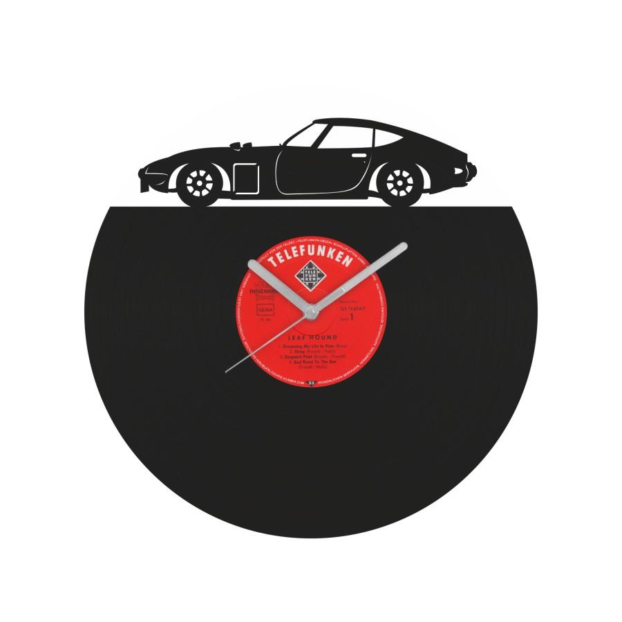 Toyota 2000GT Vinyl Record Wall Clock
